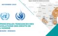 Principales tendances des violations des droits de l'homme – NOVEMBRE 2020