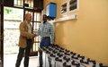 La MONUSCO fournit des équipements à l'Observatoire volcanologique de Goma