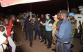 UNPOL, la FORCE et la PNC s'investissent contre l'insécurité à Kalemie