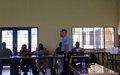 La MONUSCO forme la Police nationale congolaise dans la lutte contre la criminalité organisée