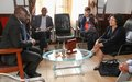 Première visite de la cheffe de la MONUSCO, Leila zerrougui, à Beni