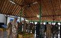 Nord-Kivu: Lieutenant Général Derrick Mgwebi: Encore plus de travail et plus de collaboration des troupes de la Monusco sur le terrain a-t-il plaidé auprès de ses collaborateurs
