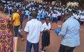 Pweto : La MONUSCO célèbre la Journée Internationale de la paix aux cotés des élèves