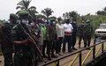 ITURI: La MONUSCO construit un pont pour rapprocher les communautés