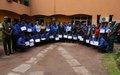Fin de la session de Formation de Formateurs de la Police congolaise