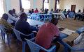 La MONUSCO consulte les leaders communautaires de Pweto sur les conflits Twa et Bantu