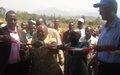 Rapprochement des communautés de la Plaine de la Ruzizi : La MONUSCO construit un marché de la Paix à Mutarule