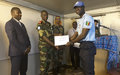 Fight against AIDS: MONUSCO pays special attention to the protection of peacekeepers