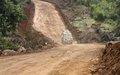 Beni : la MONUSCO réhabilite la route Kasinga-Kididiwe pour faciliter la mobilité des troupes et des populations locales
