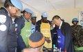 L'Envoyé Spécial Huang XIA visite une coopérative soutenue par la Police MONUSCO