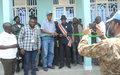 Restauration de l'autorité de l'Etat : la MONUSCO offre un nouveau bâtiment au Parquet militaire de Baraka au Sud-Kivu