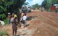 La réhabilitation d'un tronçon routier par la Monusco génère une économie parallèle, non sans danger