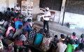 La MONUSCO sensibilise les villageois de Lukengwe sur la réduction des violences communautaires