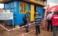 Sud-Kivu : la PNC dotée de 7 nouveaux containers aménagés en postes de police proximité par UNMAS