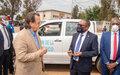 Sud-Kivu: La MONUSCO dote la province d'un canot rapide, d'un camion anti-incendie et de véhicules tout terrain.
