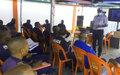 Kinshasa: 50 officiers de la PNC formés à la lutte contre les violences sexuelles basées sur le genre