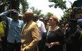 La MONUSCO et les autorités congolaises au chevet des victimes de l'accident du train à Lwembe