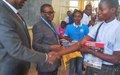 Lubumbashi : Les Agences, Fonds , Programmes et Mission de l'Onu célèbrent la journée des Nations-Unies aux cotés des élèves