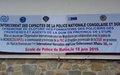 Bunia : La Police MONUSCO forme des agents de la Police nationale congolaise en Police des frontières