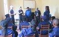 Tanganyika :  Les femmes policières de Kalemie sensibilisées à la Résolution 1325