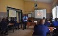 La Police de la MONUSCO forme des éléments PNC Sur la gestion d'une scène de crime