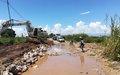 Uvira reprend du souffle avec les travaux réfection de la principale route vers le Burundi
