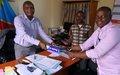 Le Bureau des Droits de l'Homme appuie le parquet d'Uvira en fournitures de bureau