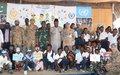 Uvira : Un haut officier de l'armée congolaise témoignage pour décourager le recrutement d'enfants dans les groupes armés