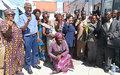Leila ZERROUGUI appelle les communautés d'Uvira à l'union et la cohésion pour une paix durable