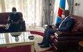 RDC : La nouvelle cheffe de la MONUSCO en visite à l'Est du pays