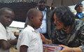 La MONUSCO réaffirme son appui pour « réduire les menaces des groupes armées sur la population »