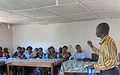 MONUSCO builds women leaders' awareness about protection mechanisms