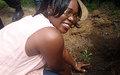 La MONUSCO plante des arbres au centre d'instruction de Kapalata à Kisangani