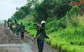Ten M23 elements surrender to MONUSCO Police in Katale, Nord Kivu