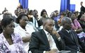 Training of Congolese judges to better combat gender-based violence
