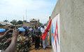 La MONUSCO construit une clôture pour l'Etat-major de la PNC à Beni