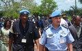 Formation de 300 policiers congolais au Kasaï Occidental