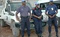 L'adjoint au Chef de la Police de la MONUSCO visite les différentes unités de police de la MONUSCO