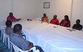 Rencontre du nouveau responsable de la Section de l'Information Publique de la MONUSCO-Kisangani et