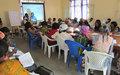 Les femmes du Nord Kivu réfléchissent sur le thème « genre, pouvoir et élections.»