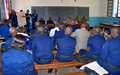 MONUSCO trains trainers of the Congolese National Police (PNC)
