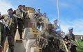 Les Forces Guatémaltèques déployées dans le Haut-Uélé, reçoivent la Médaille des Nations Unies
