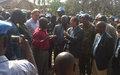 Martin Kobler apporte son soutien à la population meurtrie de Mutarule