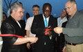 MONUSCO Provides New Air Traffic Control Equipment to Bunia International Airport
