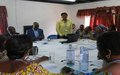 Bukavu women candidates' round-table discussion on the electoral process