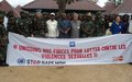 FARDC training on the issue of sexual violence in Ituri