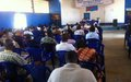 The United Nations Joint Human Rights Office (UNJHRO) opens debates on torture in Bunia