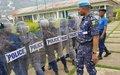 230 policemen undergoing public order maintenance and restoration training