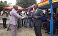 Inauguration of RTNC building in Goma