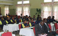 Congolese national police trained on Gender in Matadi, Bas-Congo province